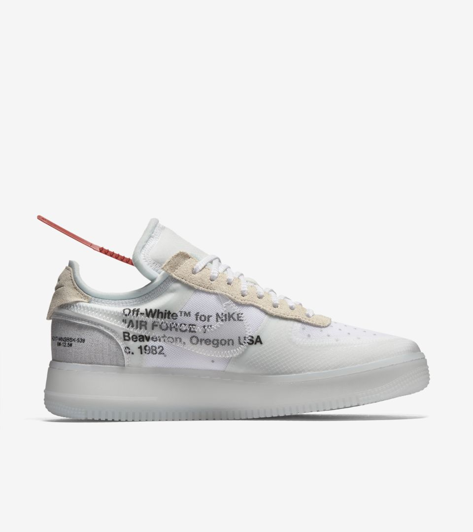 air force 1 per off white gialle