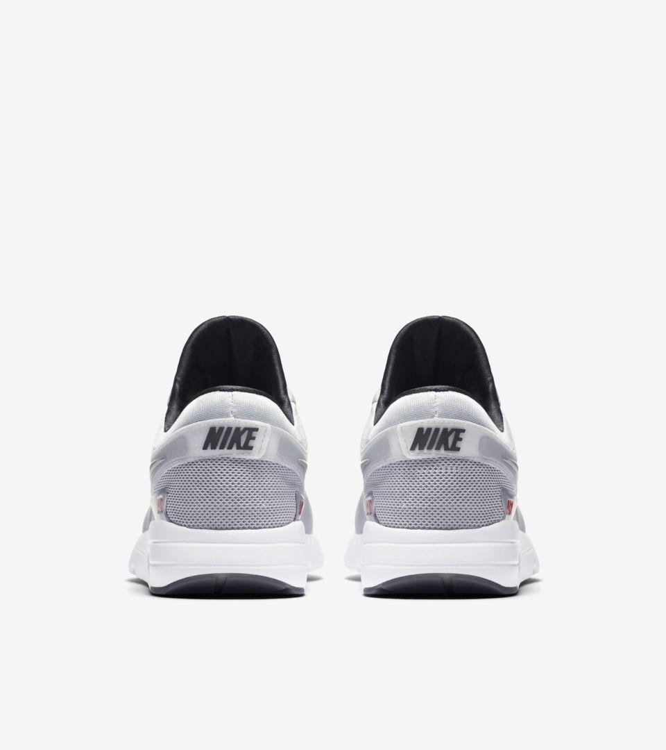 82564f4cfa4f Nike Air Max Zero  Metallic Silver   University Red . Release Date ...