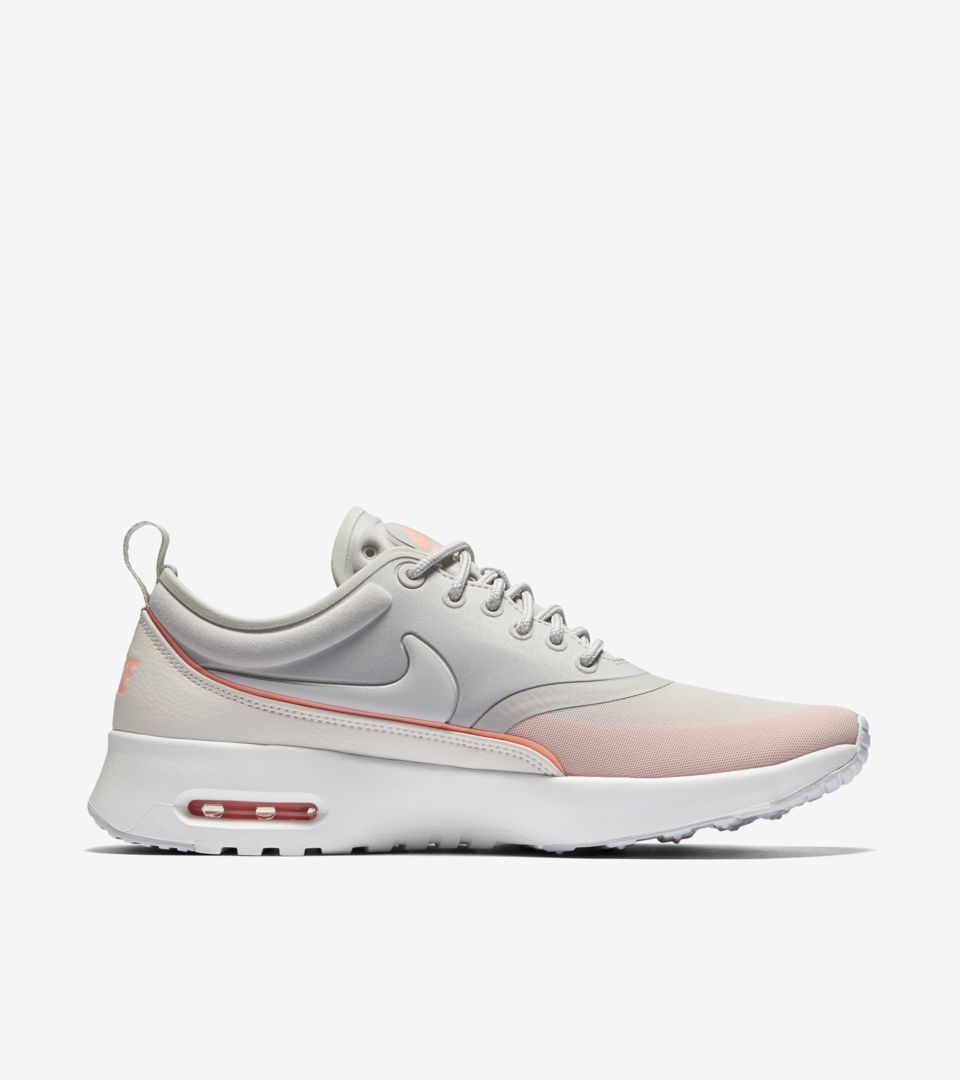 good looking detailed images another chance Women's Nike Air Max Thea Ultra 'Iron Ore & Atomic Pink ...