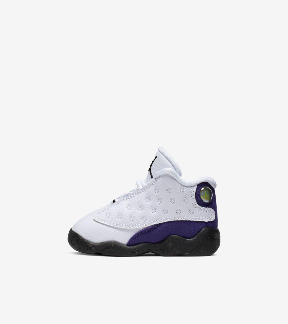 release date: f67b9 28f6a Air Jordan 13 'White/Court Purple' Release Date. Nike+ SNKRS