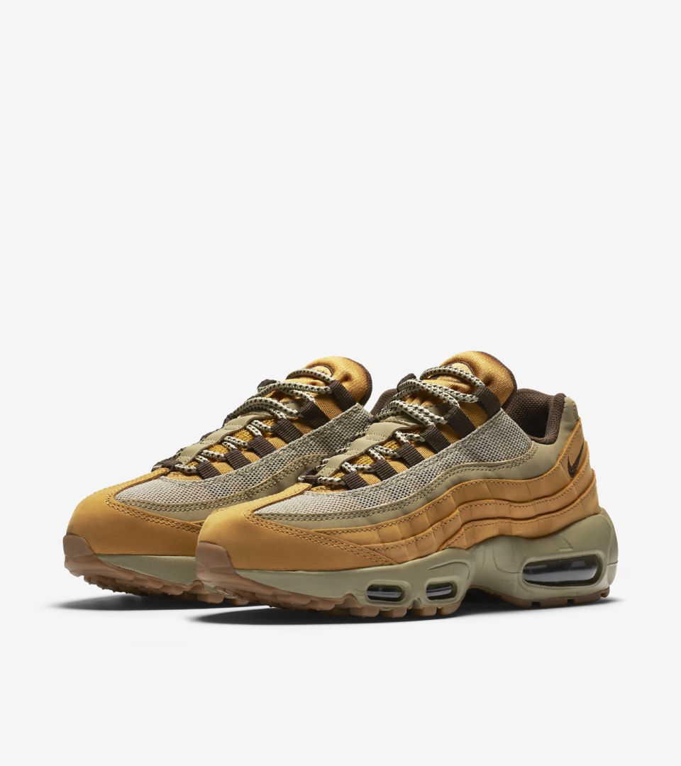 100% genuine 2018 shoes shopping Women's Nike Air Max 95 Winter 'Bronze & Bamboo'. Release ...