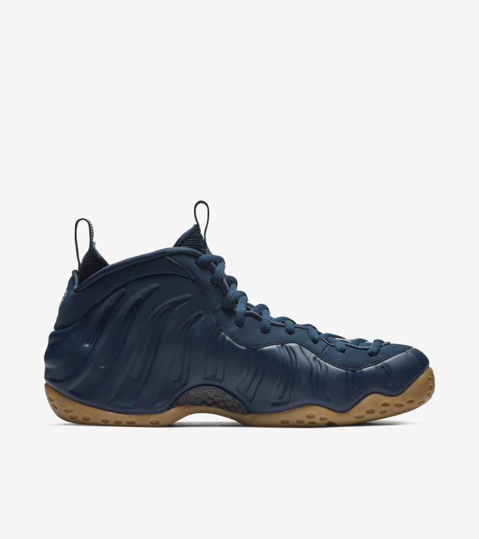 2ddfb82ae69 Air Foamposite One  Midnight Navy   Gum Light Brown  Release Date ...