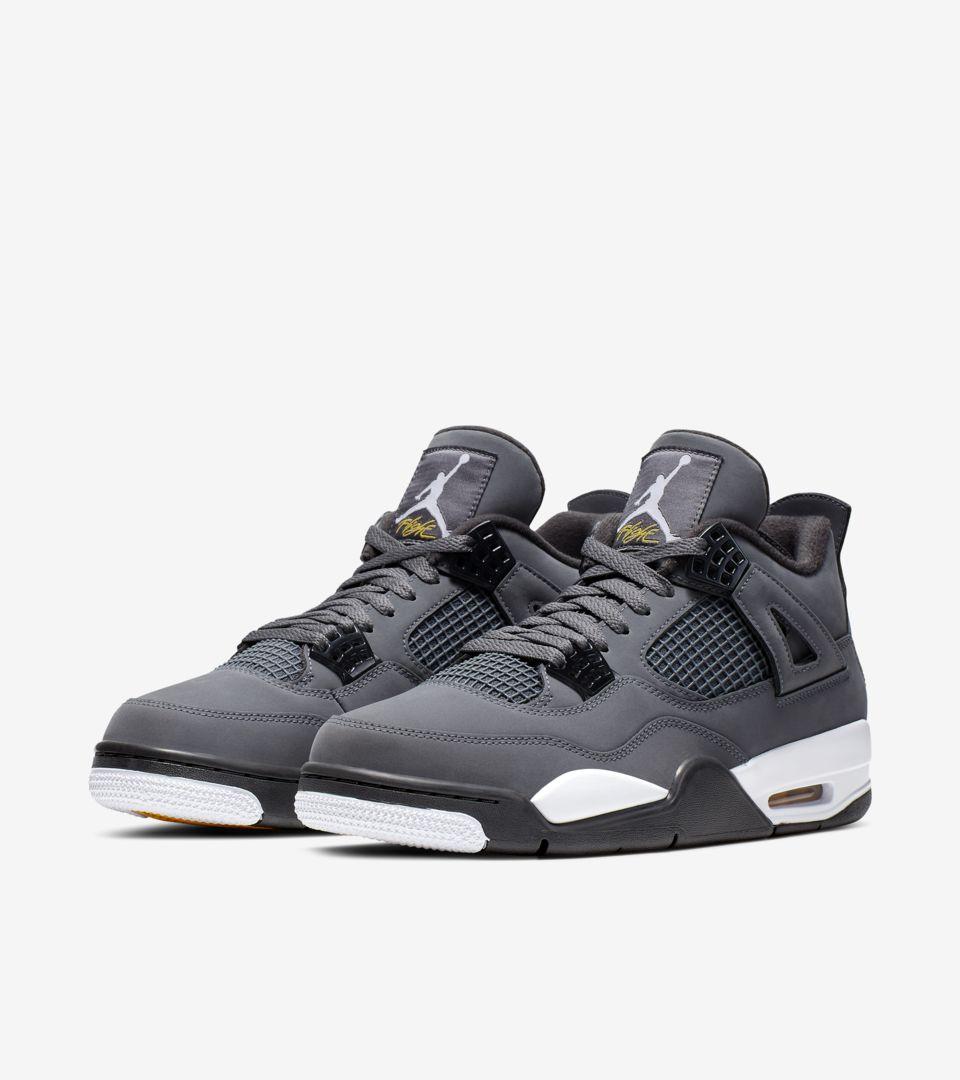 nouveau style bc0b5 5b267 Air Jordan IV 'Cool Grey' Release Date. Nike+ SNKRS