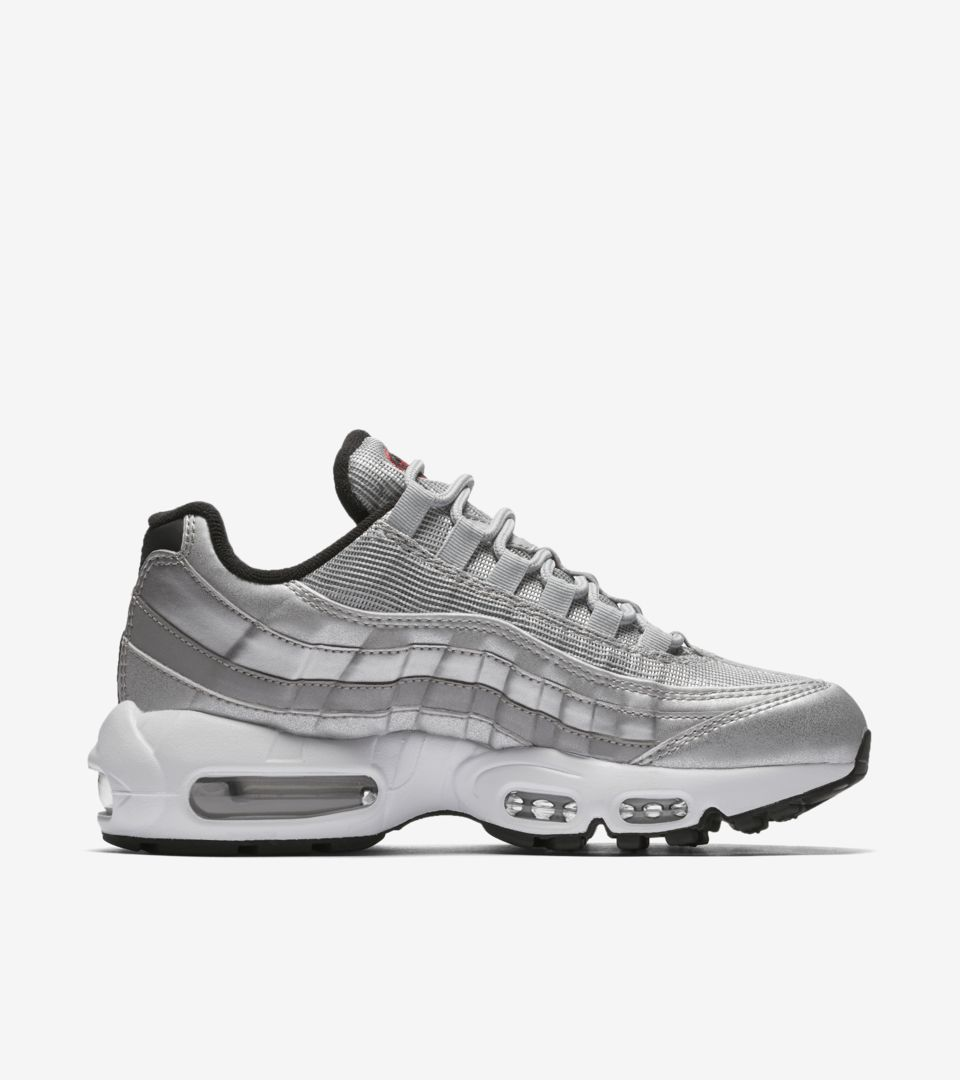 Nike Air Max 95 Damen Silber