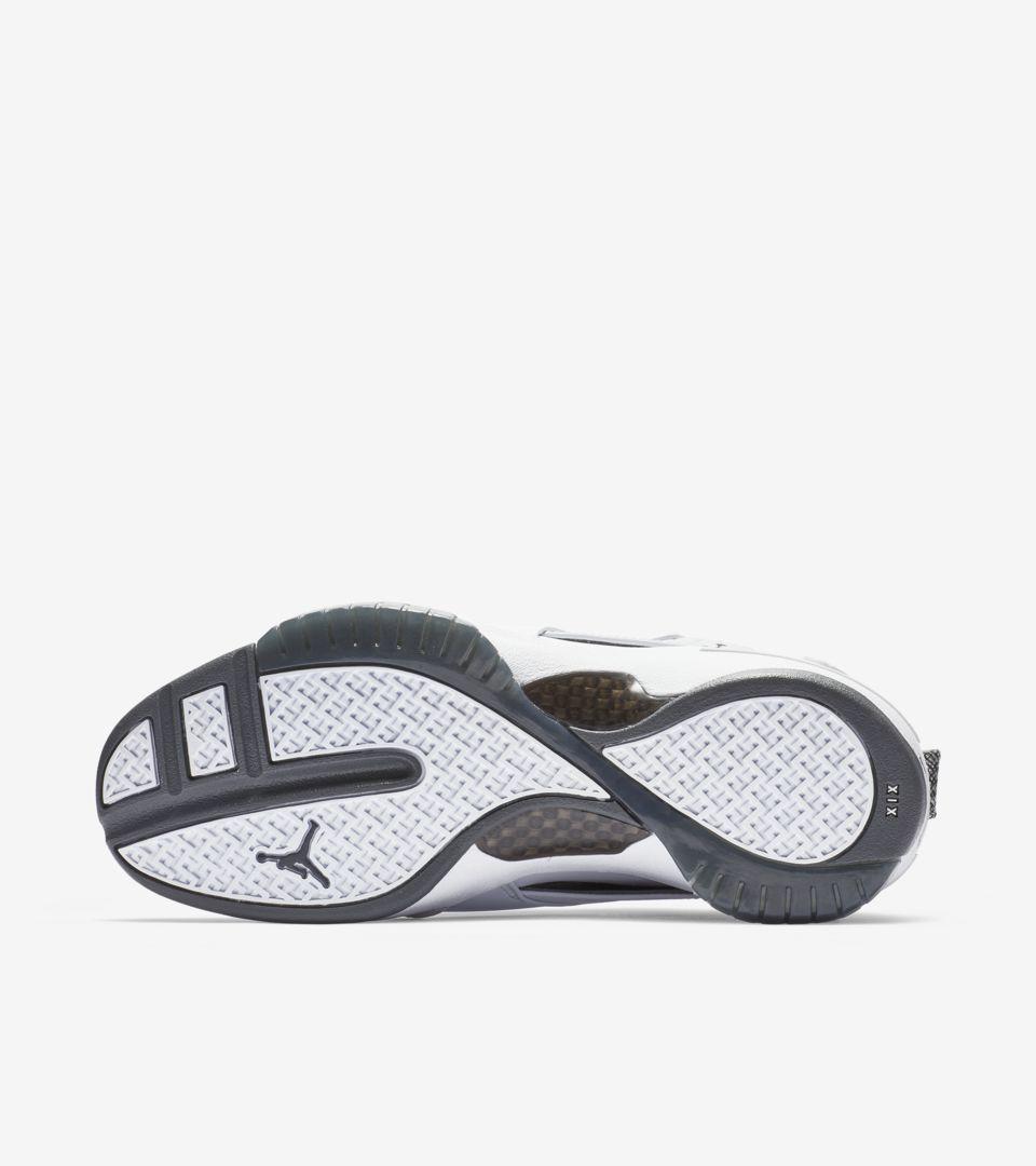 4689c6cc196c Air Jordan 19  Flint Grey   White   Chrome  Release Date. Nike+ SNKRS