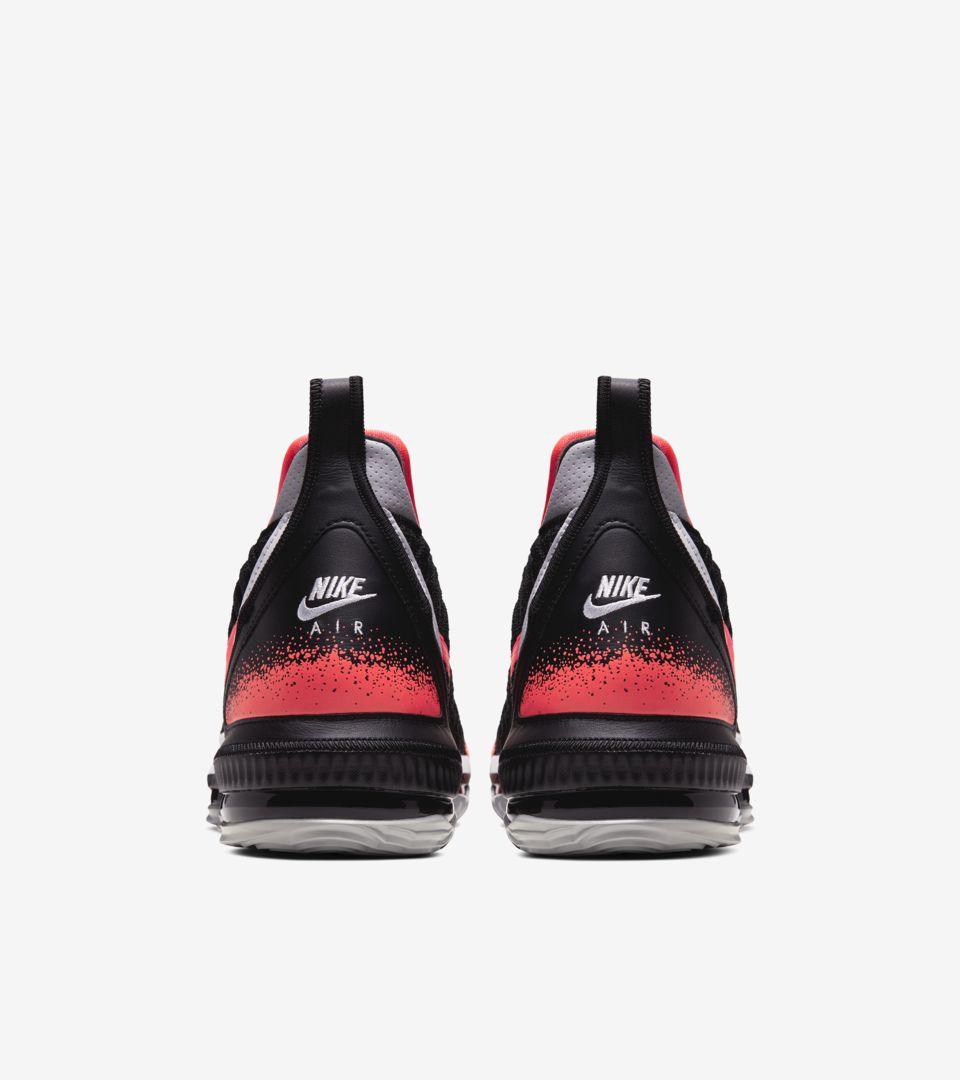 LeBron 16 'Hot Lava Black' Release Date