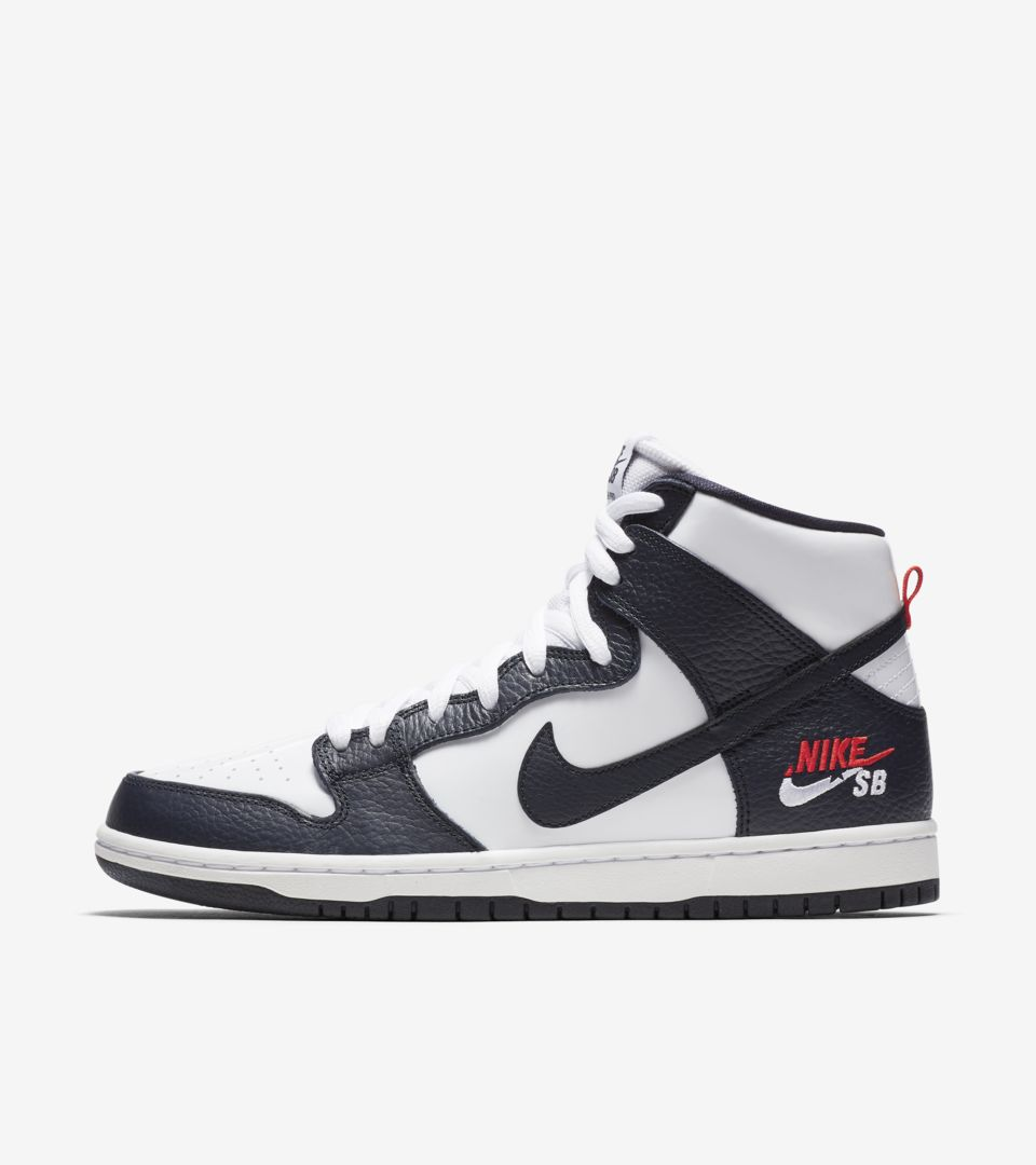 Nike SB Dunk High Pro 'Obsidian & White' Release Date. Nike⁠+ SNKRS