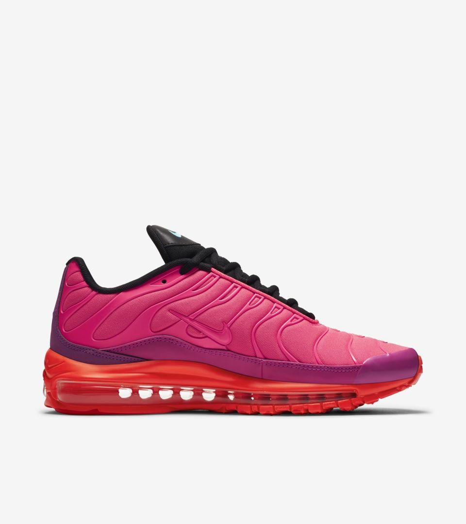 3f259fb10cec Nike Air Max 97   Plus  Racer Pink   Hyper Magenta  Release Date ...