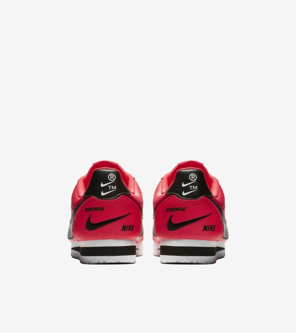 1517256f767d Nike Classic Cortez Premium 'Red Orbit & White & Black' Release Date ...