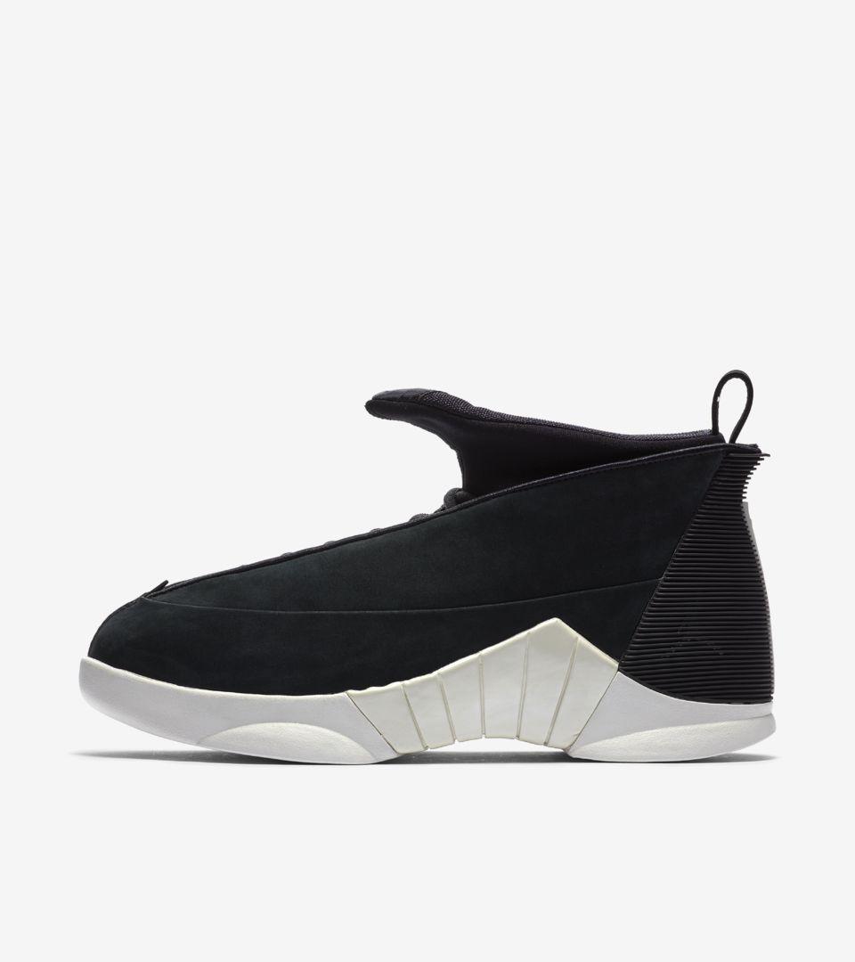 Air Jordan XV PSNY 'Black Suede'. Nike