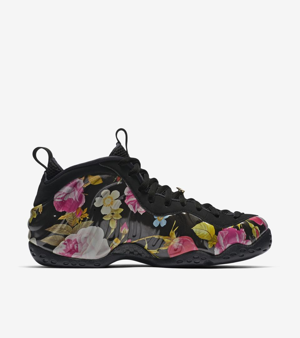 2df330ba8b257 Nike Air Foamposite One Floral  Black  Release Date. Nike⁠+ SNKRS