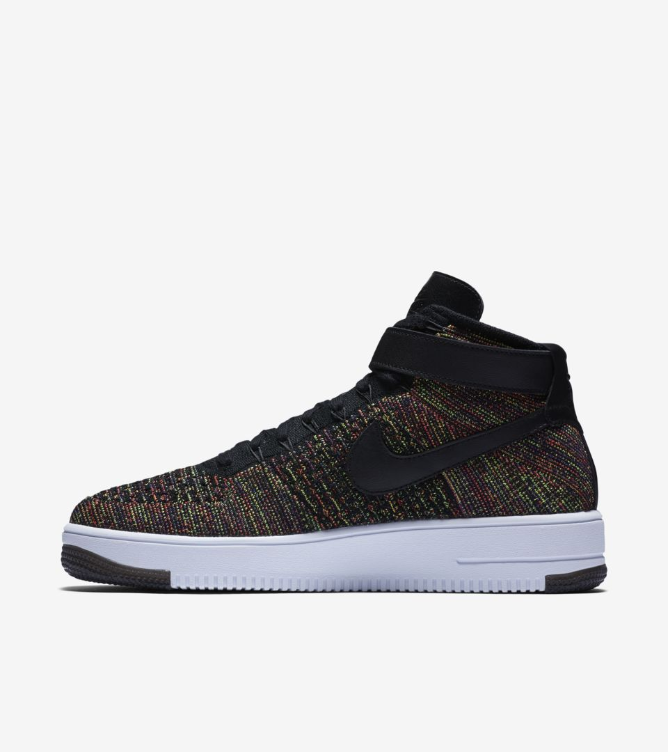 new style 67af7 971ef Nike Air Force 1 Ultra Flyknit Mid 'Multicolor 2.0' Release Date ...