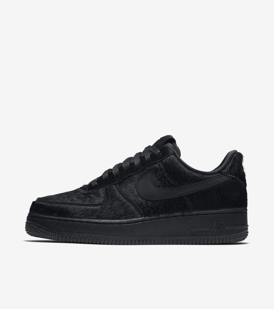 nike air force 1 low pony hair