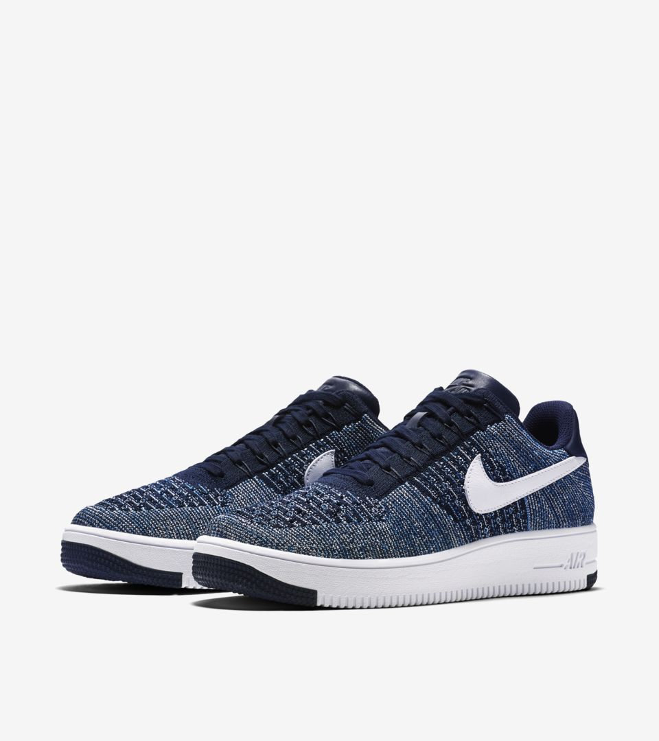 best authentic 21984 417db Nike Air Force 1 Ultra Flyknit Low 'Summer Blues' Release ...