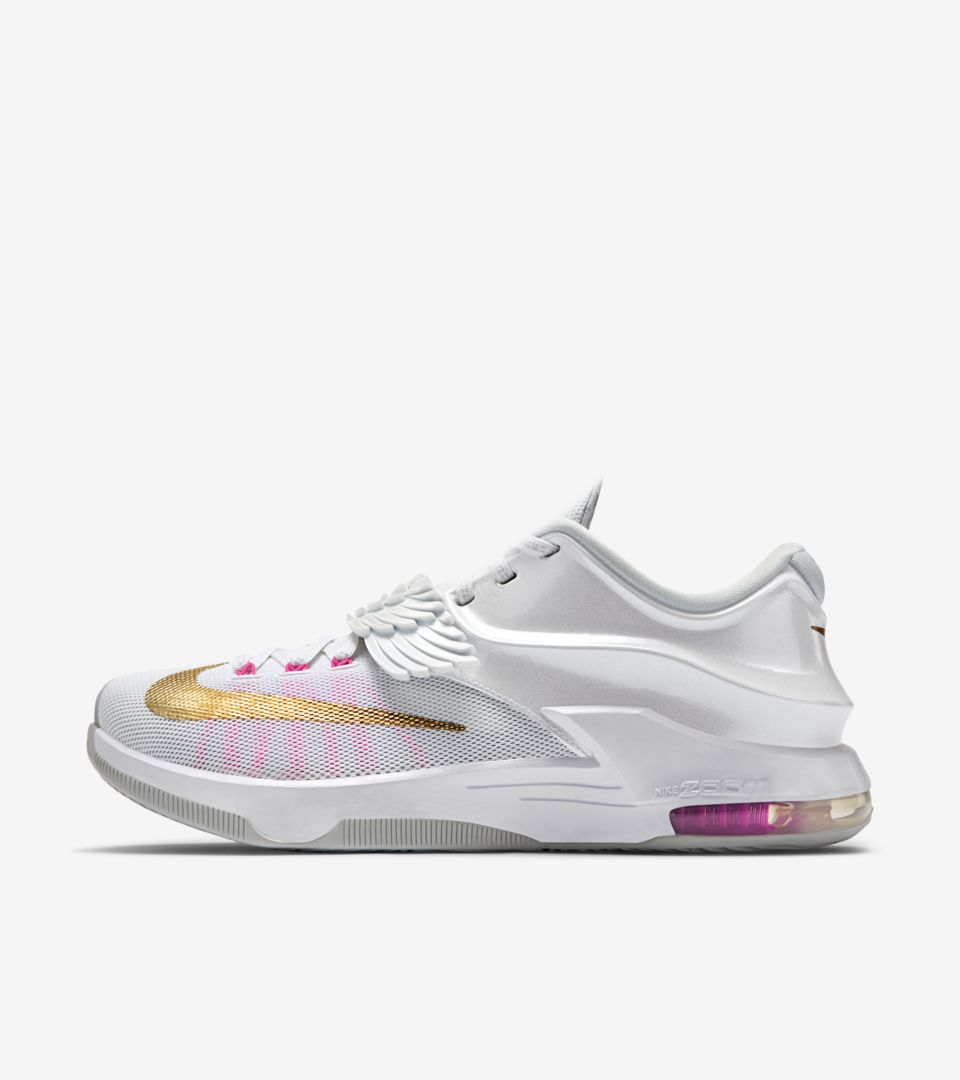 the best attitude 7d637 c1d0b Nike KD 7  Aunt Pearl  Release Date. Nike⁠+ SNKRS