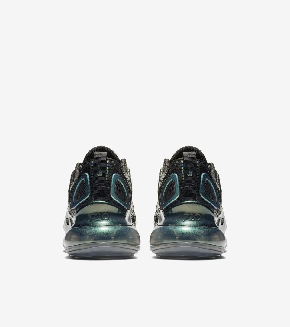 Women's Air Max 720 Iridescent 'Black & Anthracite' Release Date
