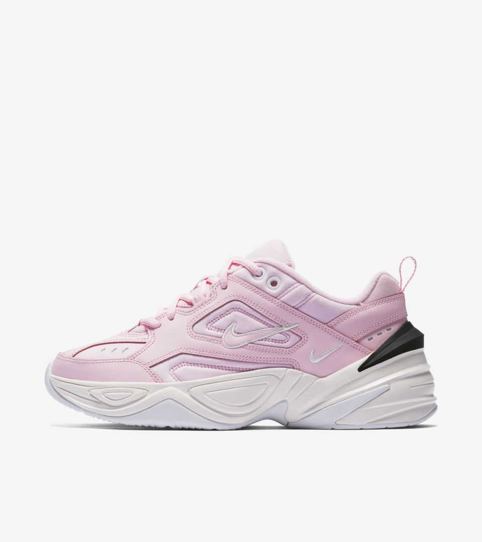 ba25cfb449bc9f Nike Women s M2K Tekno  Pink Foam   Phantom  Release Date. Nike+ SNKRS