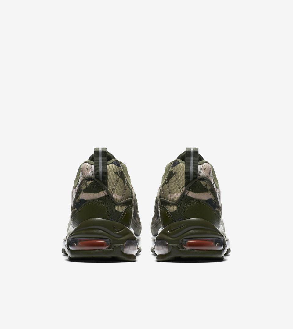 Nike Air Max 98 'Cargo Khaki & Sunset Tint' Release Date