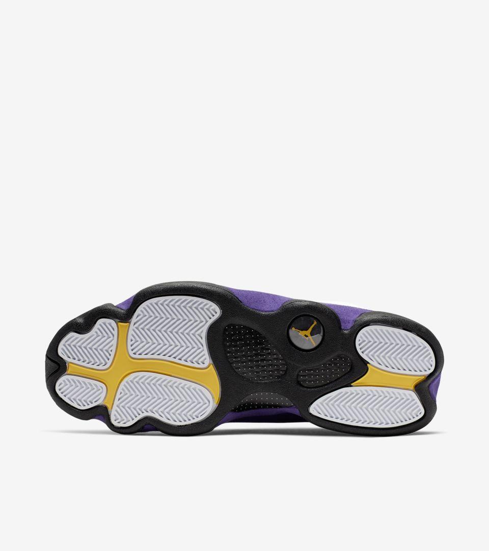 release date: e68ac e42d2 Air Jordan 13 'White/Court Purple' Release Date. Nike+ SNKRS