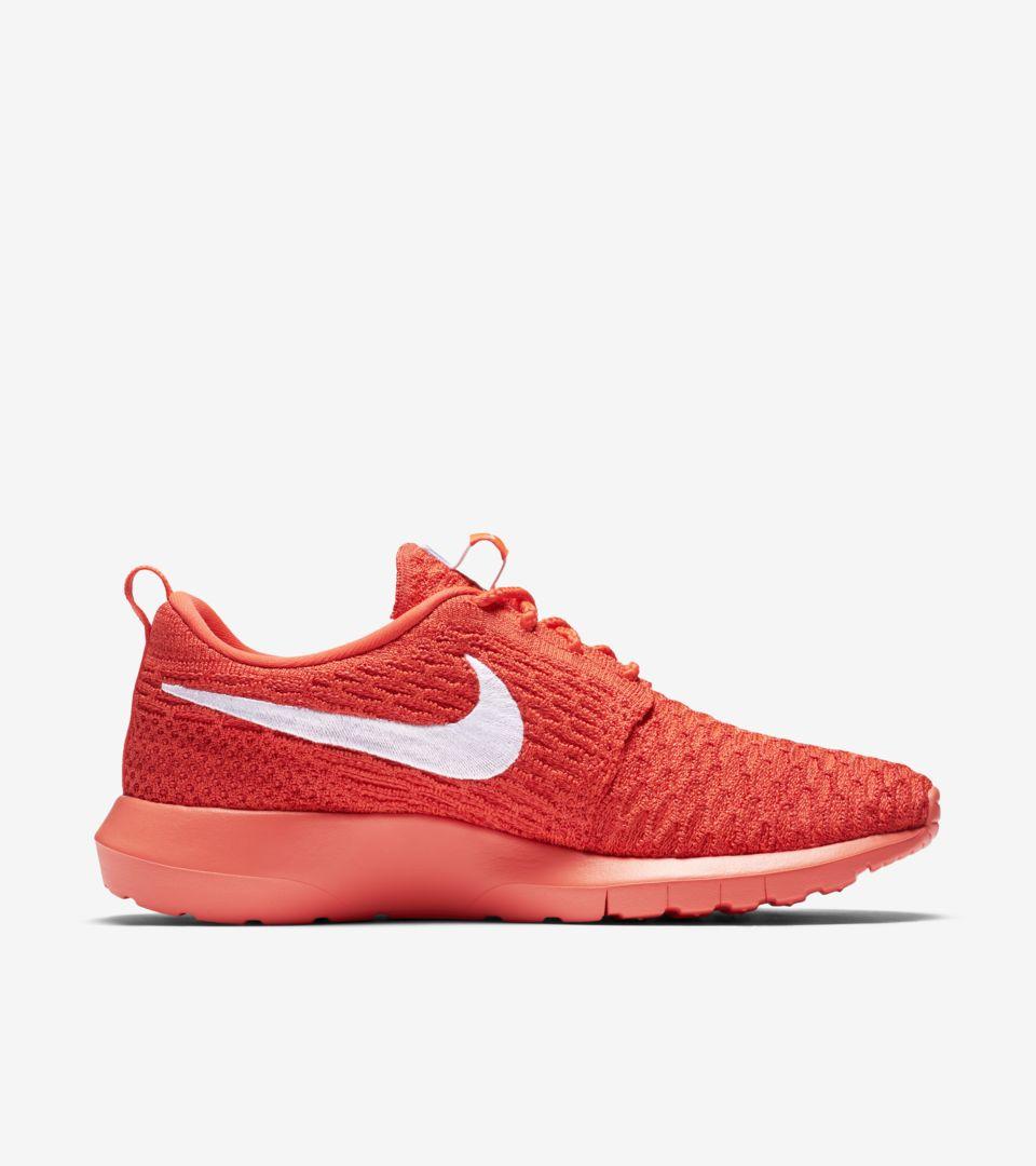 innovative design 23d0b c650b Women's Nike Roshe One Flyknit 'Crimson'. Nike+ SNKRS
