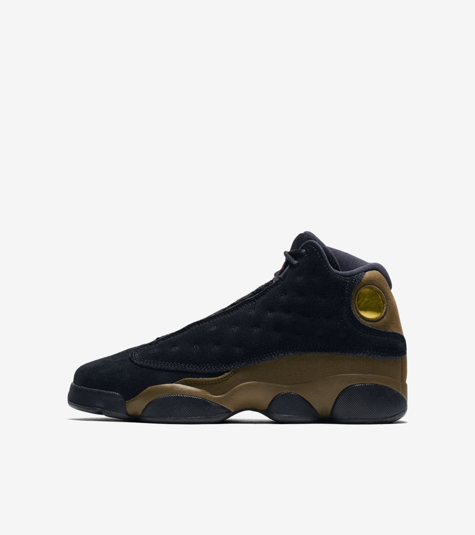 36a9b5a46c Air Jordan 13 'Black & Olive' Release Date. Nike+ SNKRS