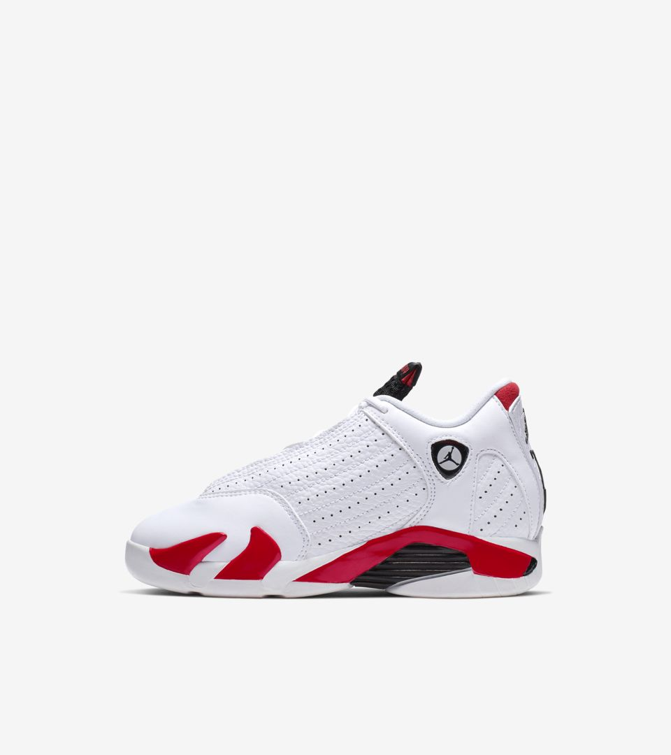 pretty nice cab70 16741 Nike Air Jordan 14 'White & Red' Release Date. Nike⁠+ SNKRS