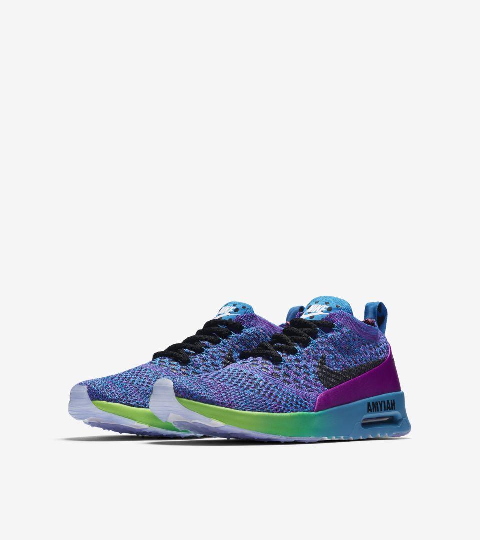 b72a4b3795 Nike Air Max Thea Ultra Flyknit BG Doernbecher 2017 'Vivid Purple ...