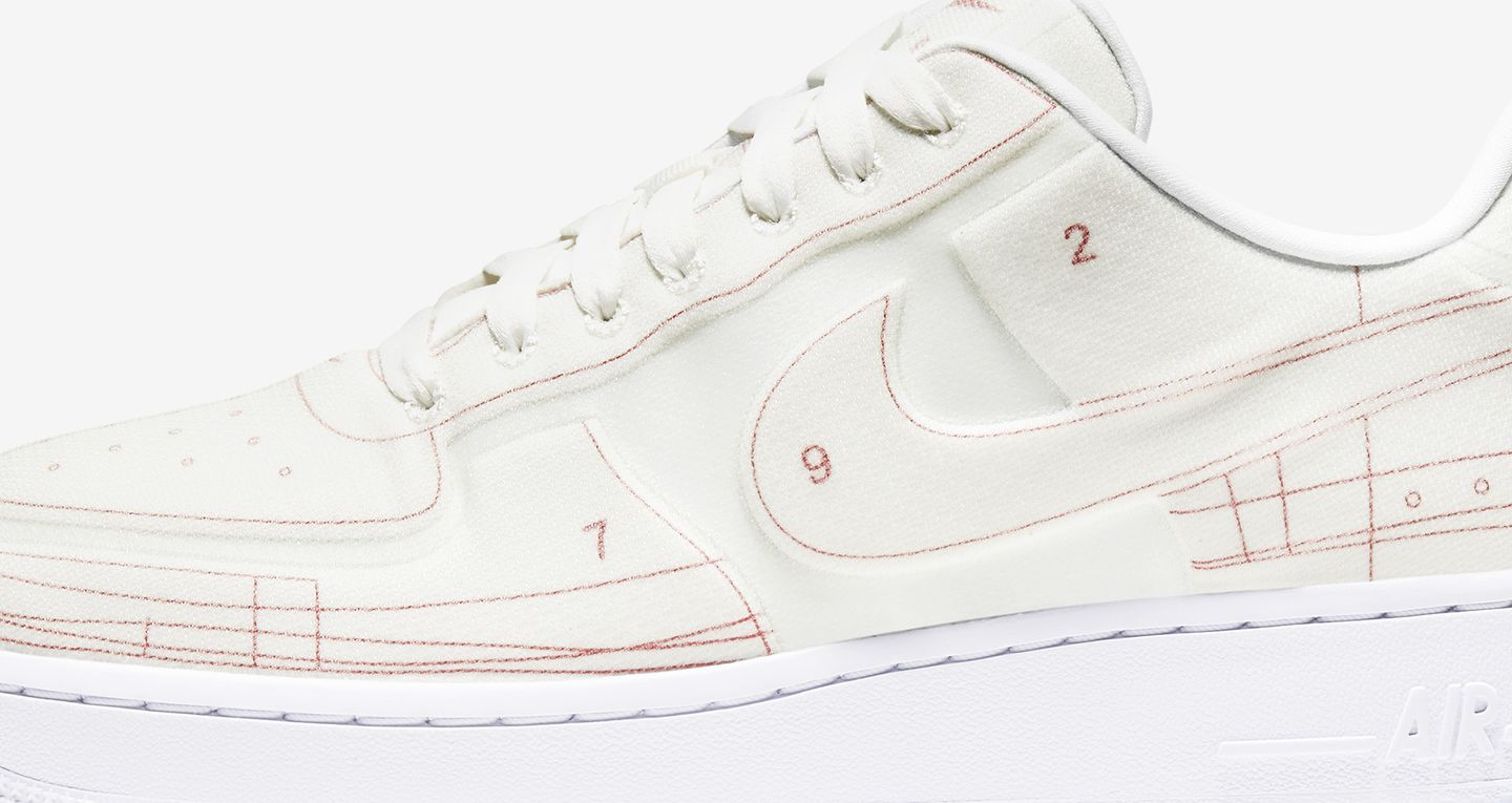 Women's Air Force 1 'Summit WhiteUniversity Red' Release