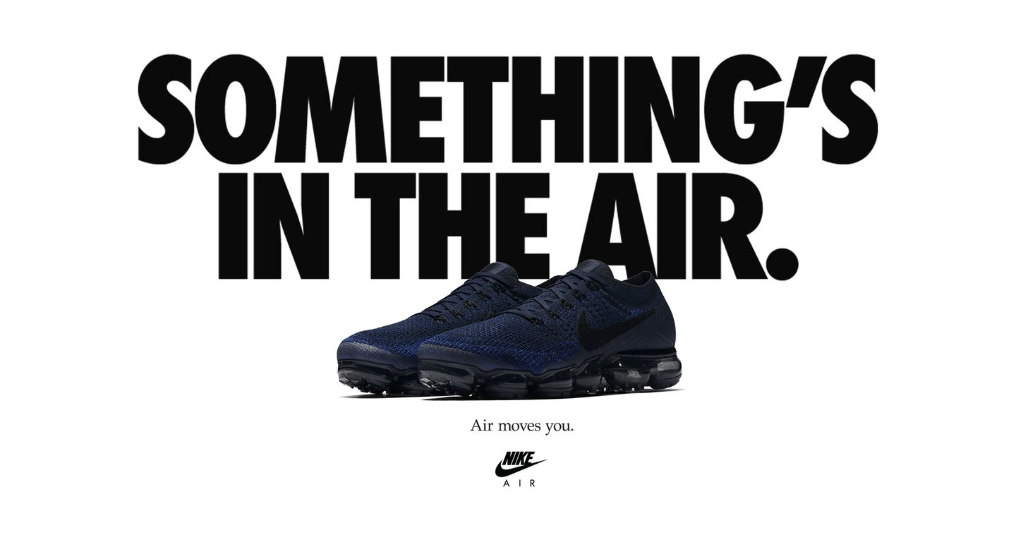 Nike Air VaporMax Flyknit Day to Night 'College Navy'. Nike