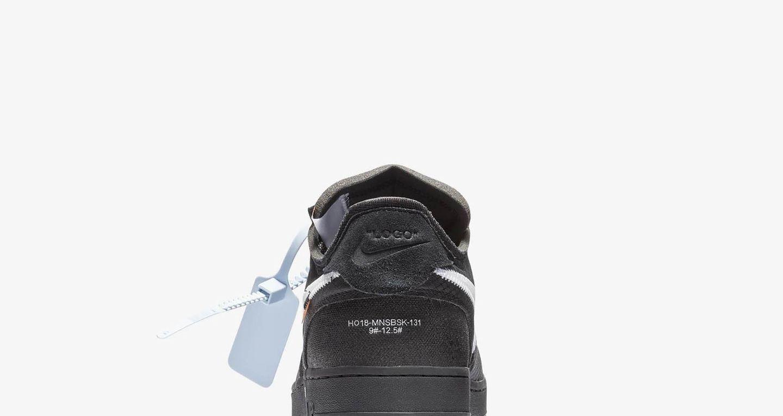 Date de sortie de la The 10: Nike Air Force 1 Low « Black