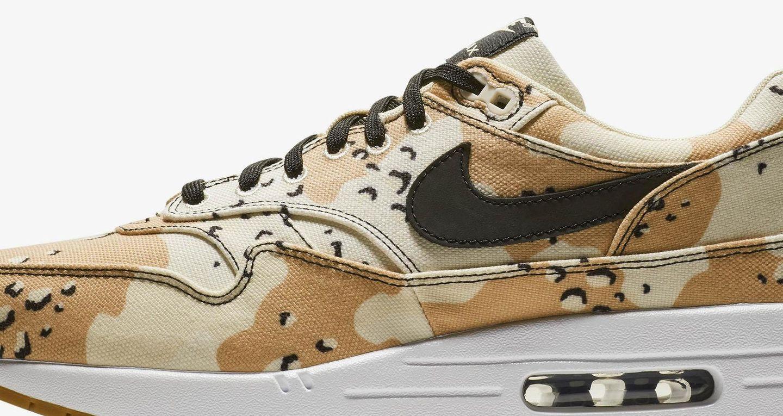 "Nike Air Max 1 Premium ""Desert Camo"" – data premiery. Nike"