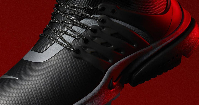 "Női Nike Air Presto Mid Utility Sneakerboot ""Black &"