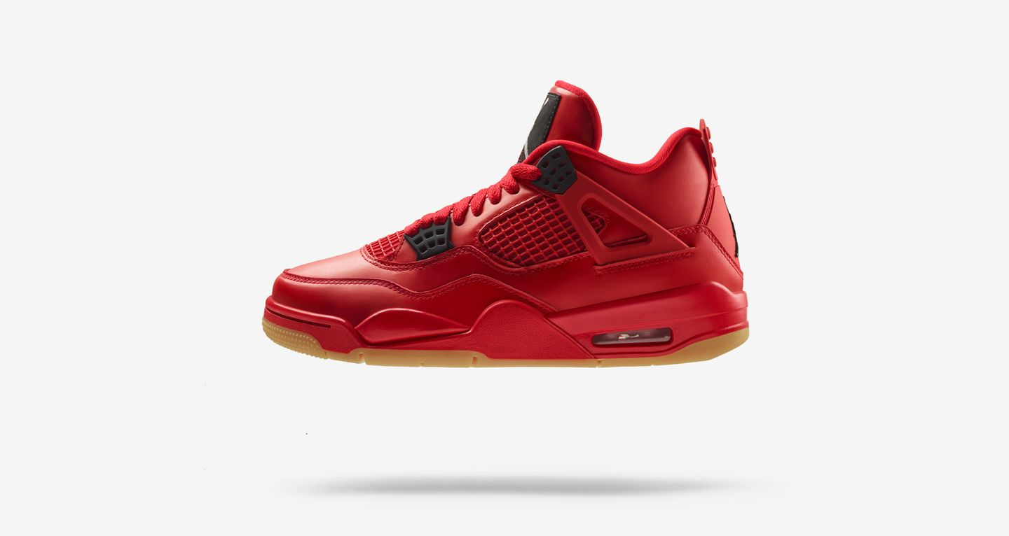 air jordan 4 retro rouge feu