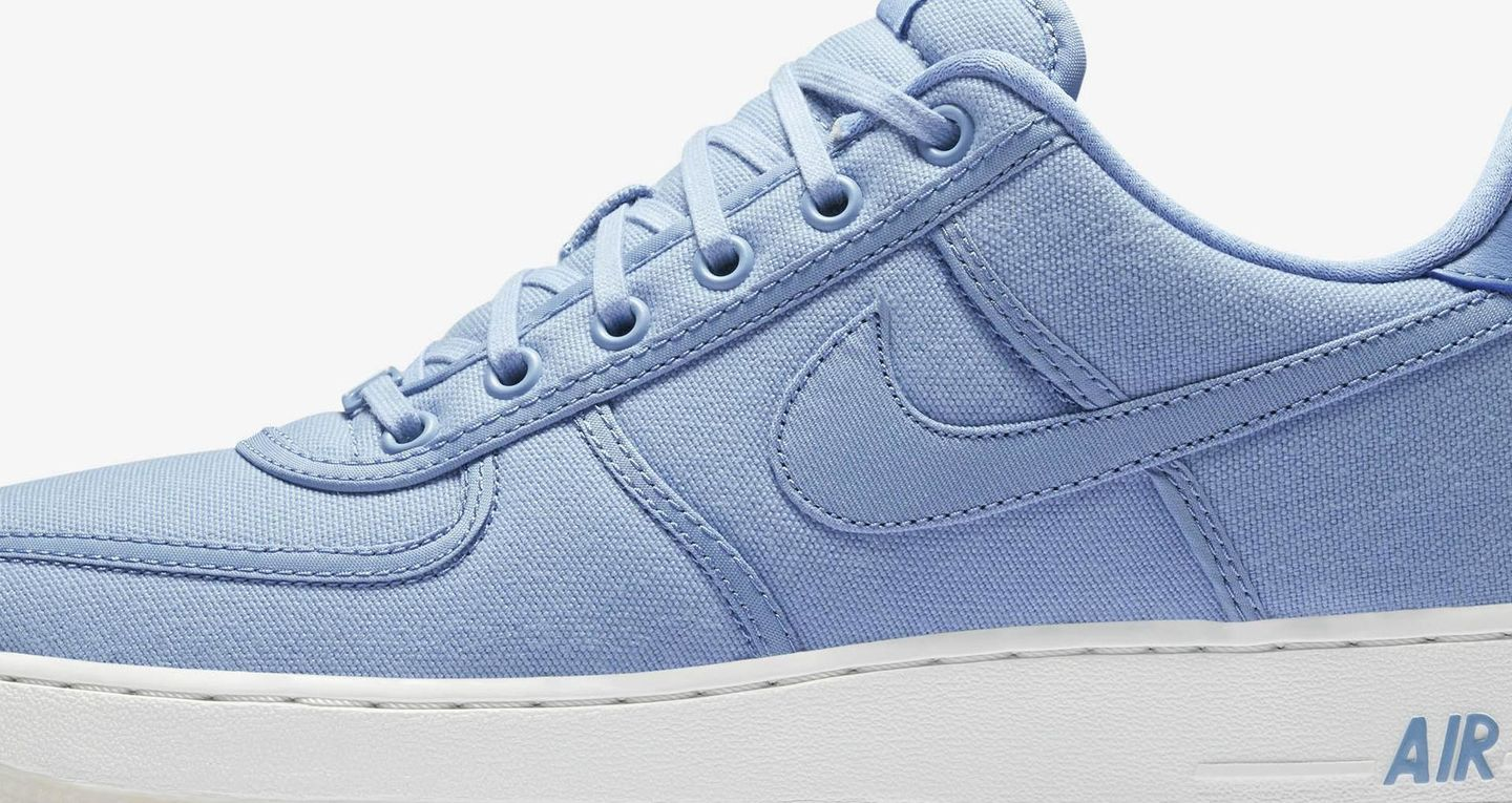 Nike Air Force 1 Low Retro Canvas 'December Sky' Release
