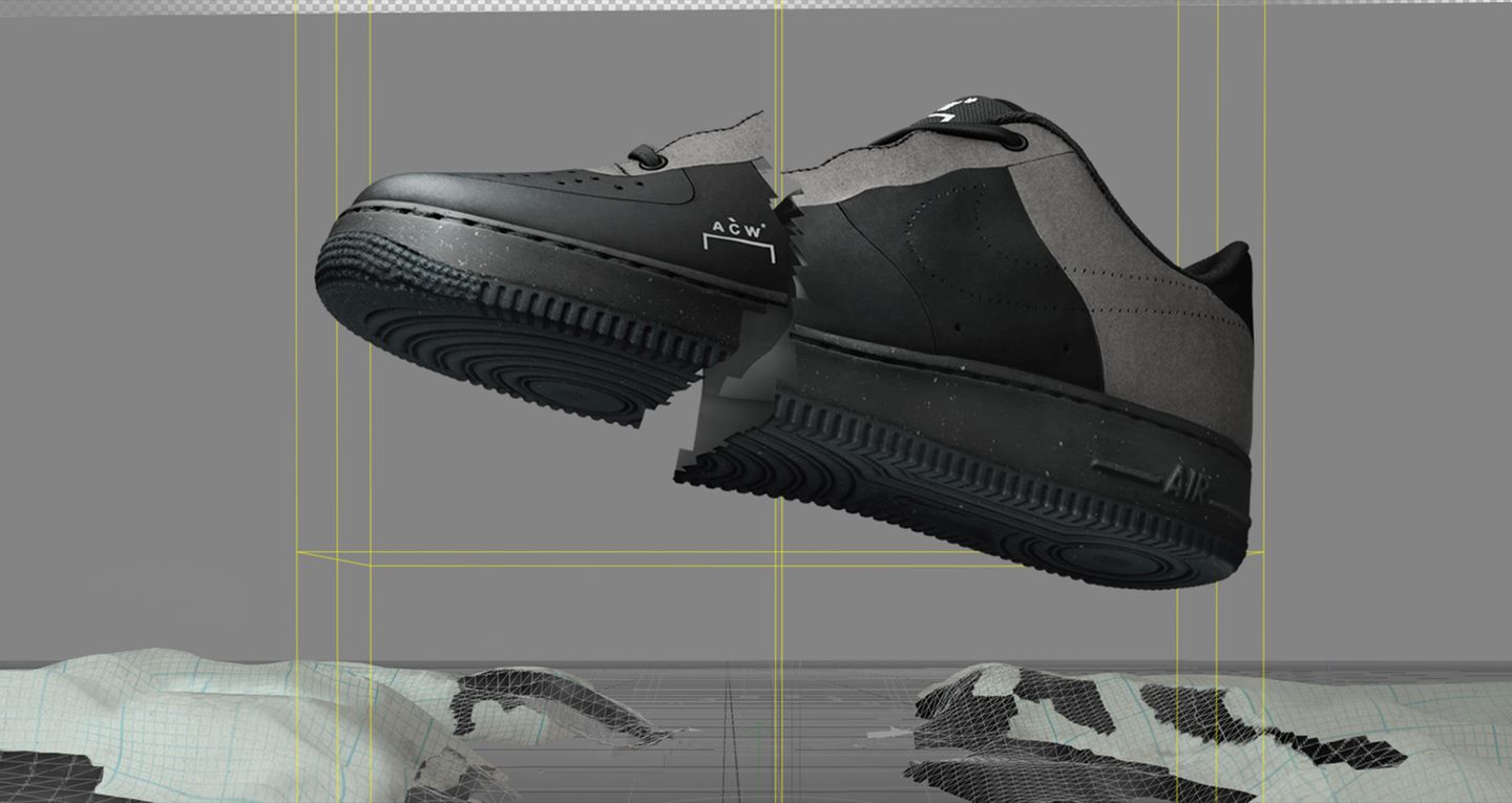 Nike Air Force 1 A Cold Wall* 'Black' Release Date. Nike SNKRS