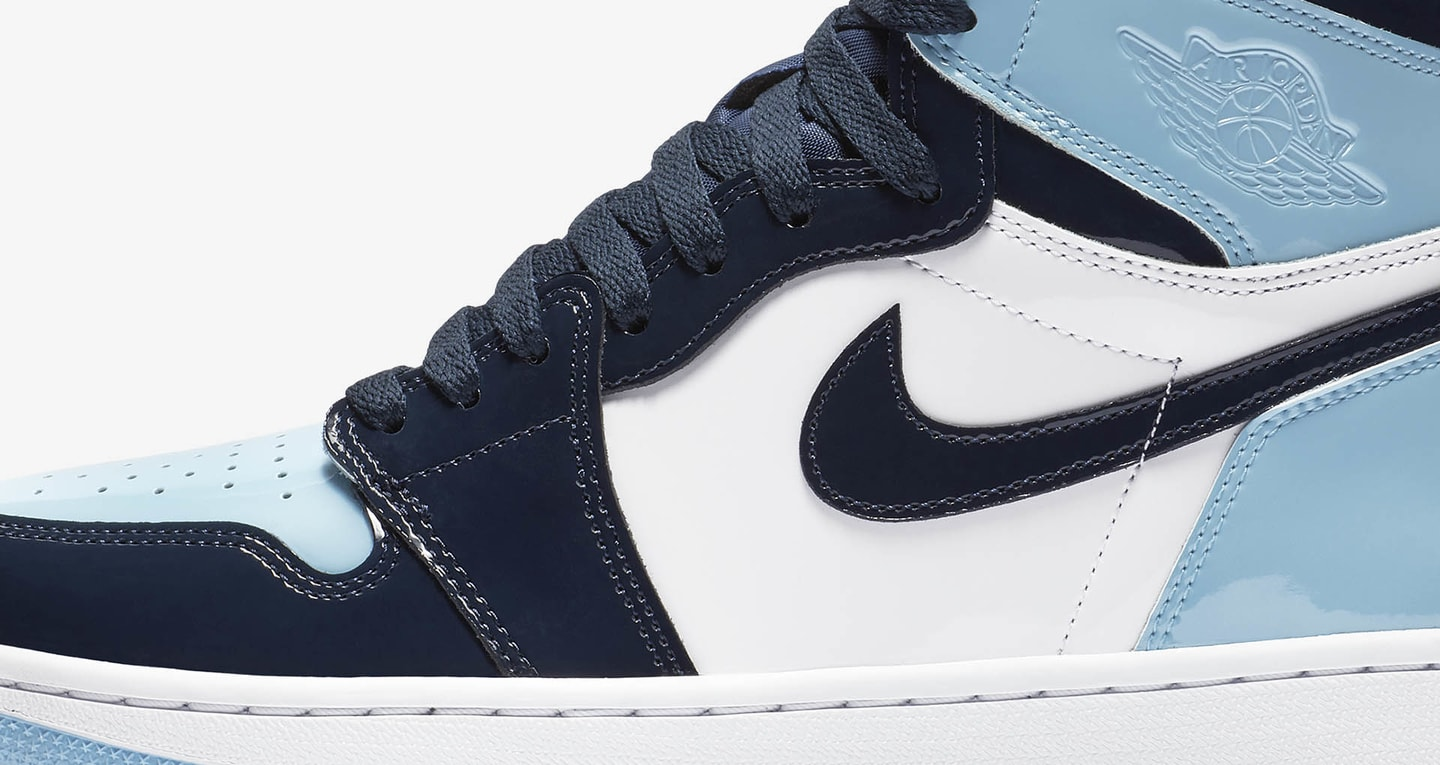 Women's Air Jordan 1 High 'Blue Chill & Obsidian & ...