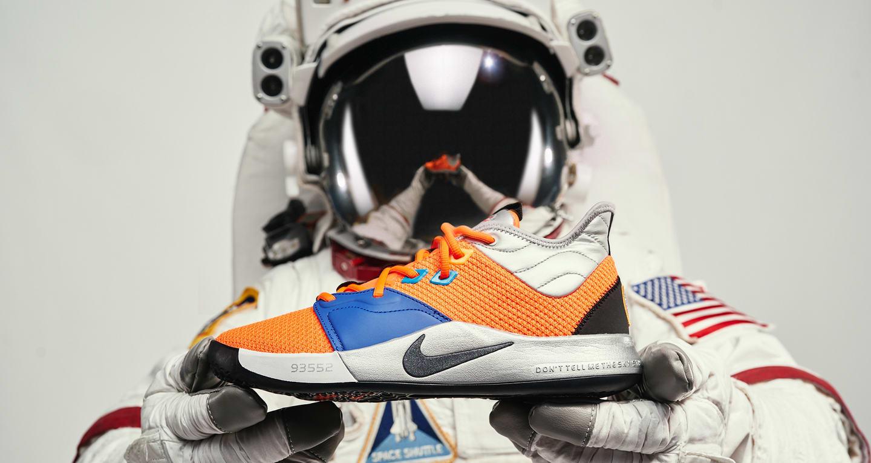 Dentro il design: PG3 X NASA. Nike SNEAKRS IT