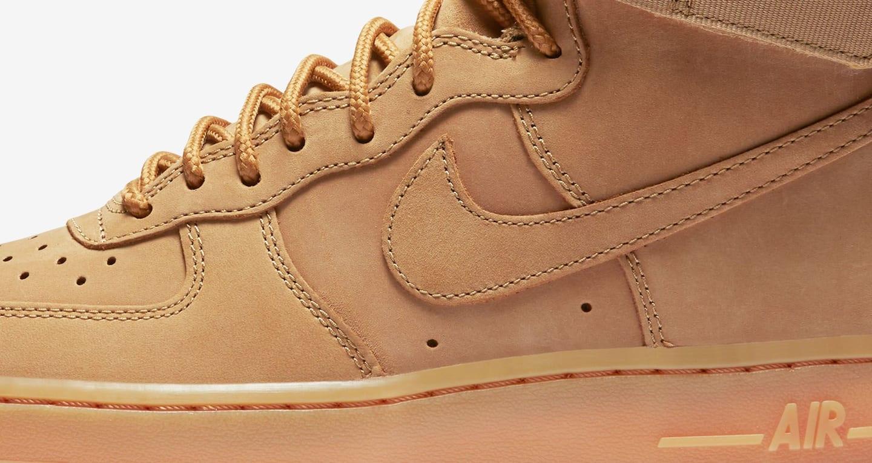 nike air force high flax