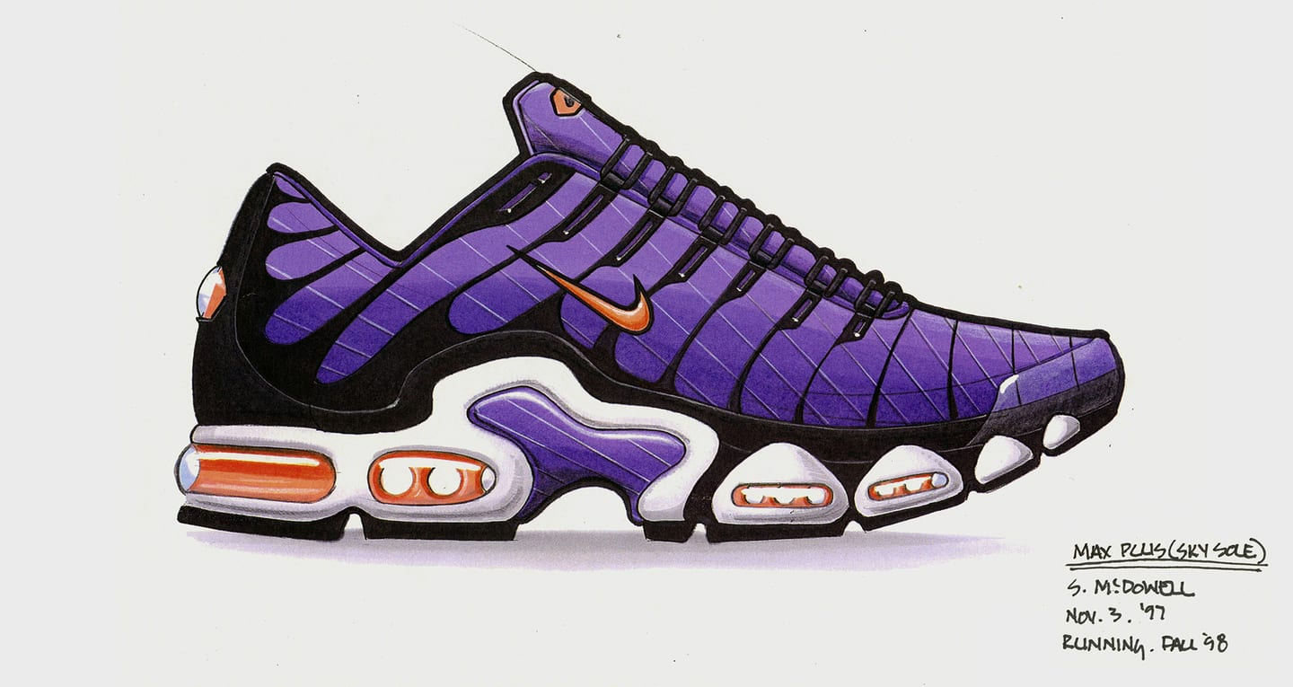 À l'origine du design : Nike Air Max Plus OG. Nike SNEAKRS FR
