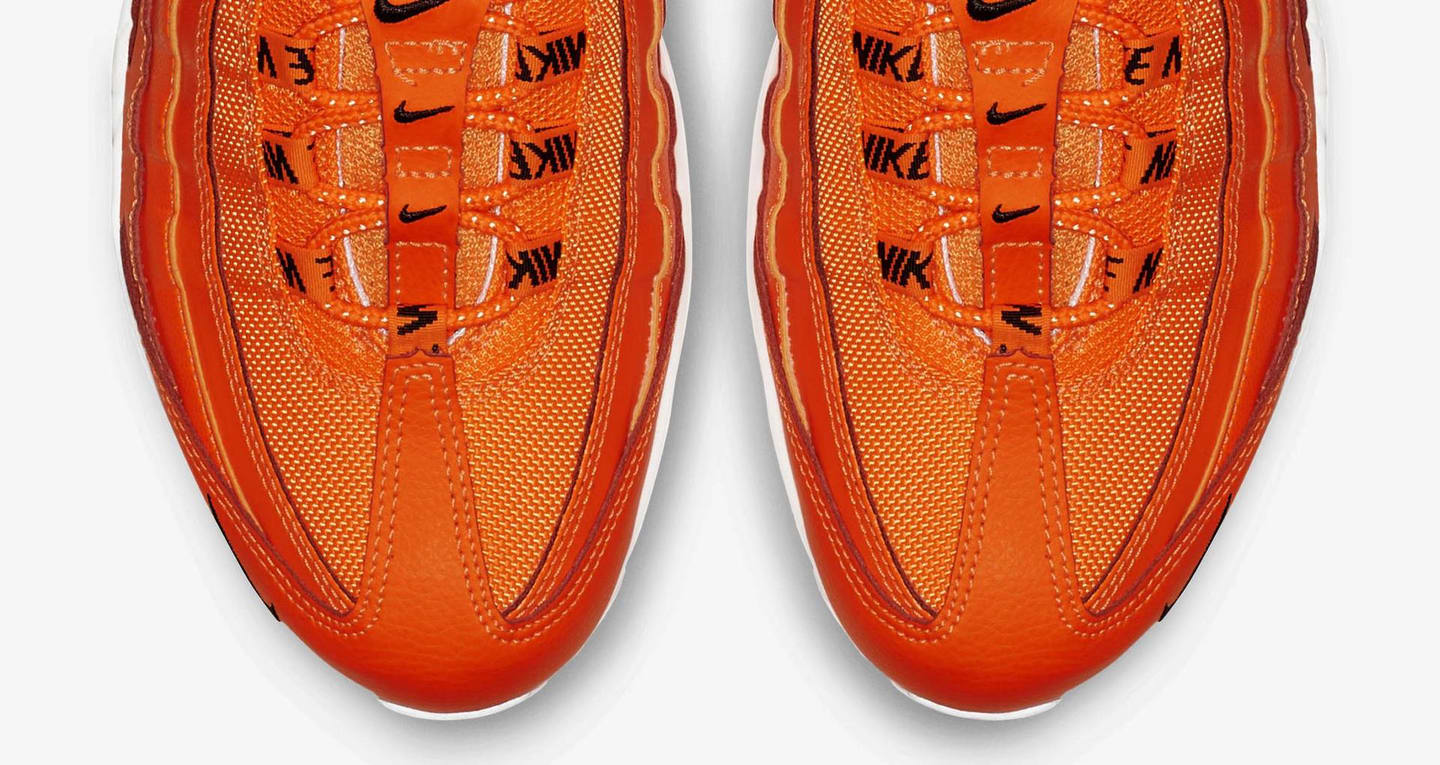 buty nike air max 95 premium overbranding total orange