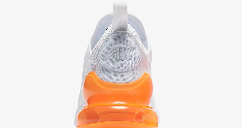 nike air max 270 white pack total orange