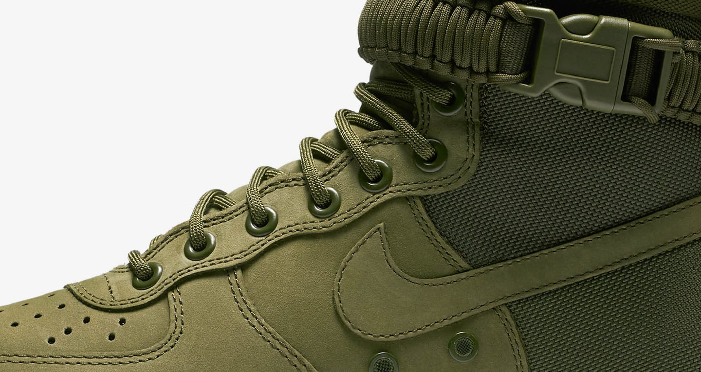 Nike Special Field Air Force 1 'Faded Olive & Gum Light