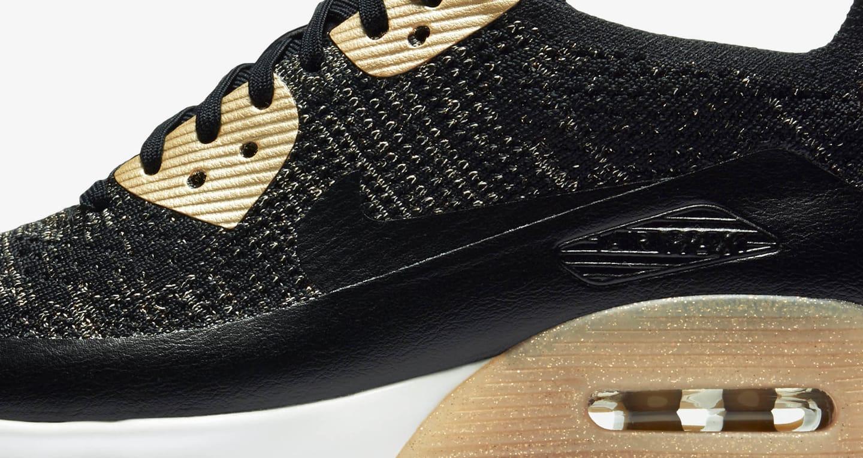 Nike Air Max 90 Ultra 2.0 Flyknit Metallic 'Black &