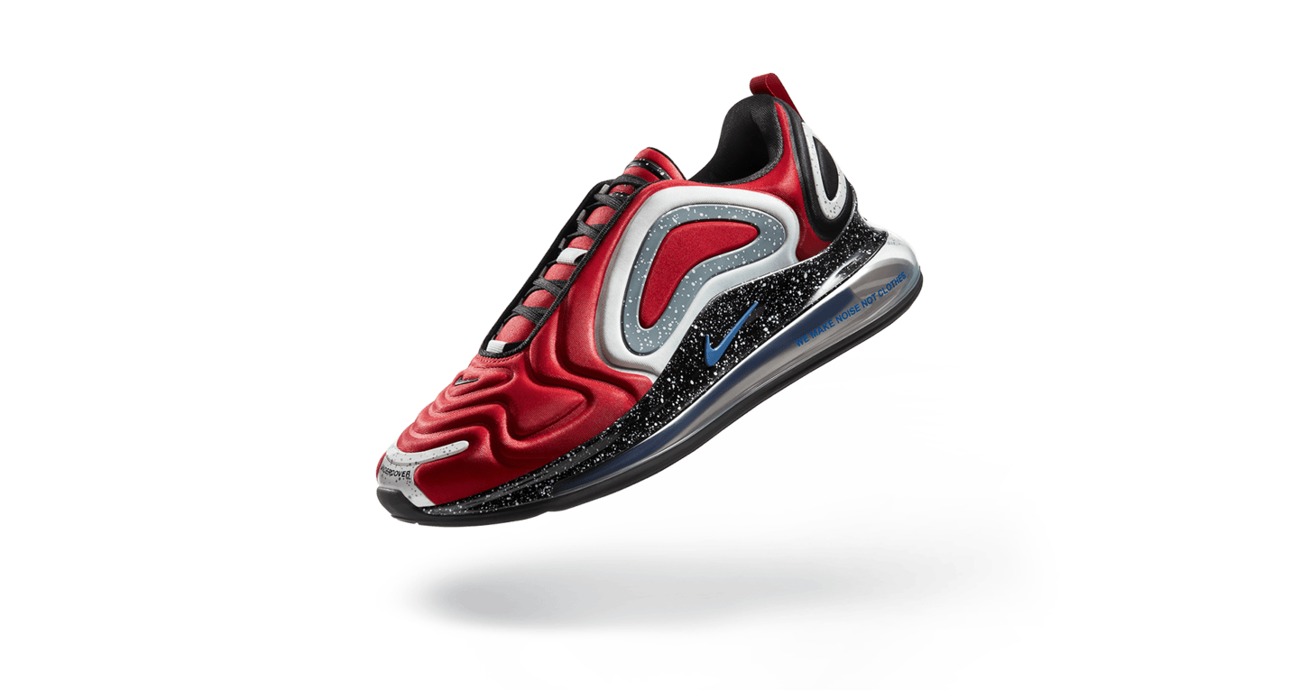 Air Max 720 University Red Blue Jay