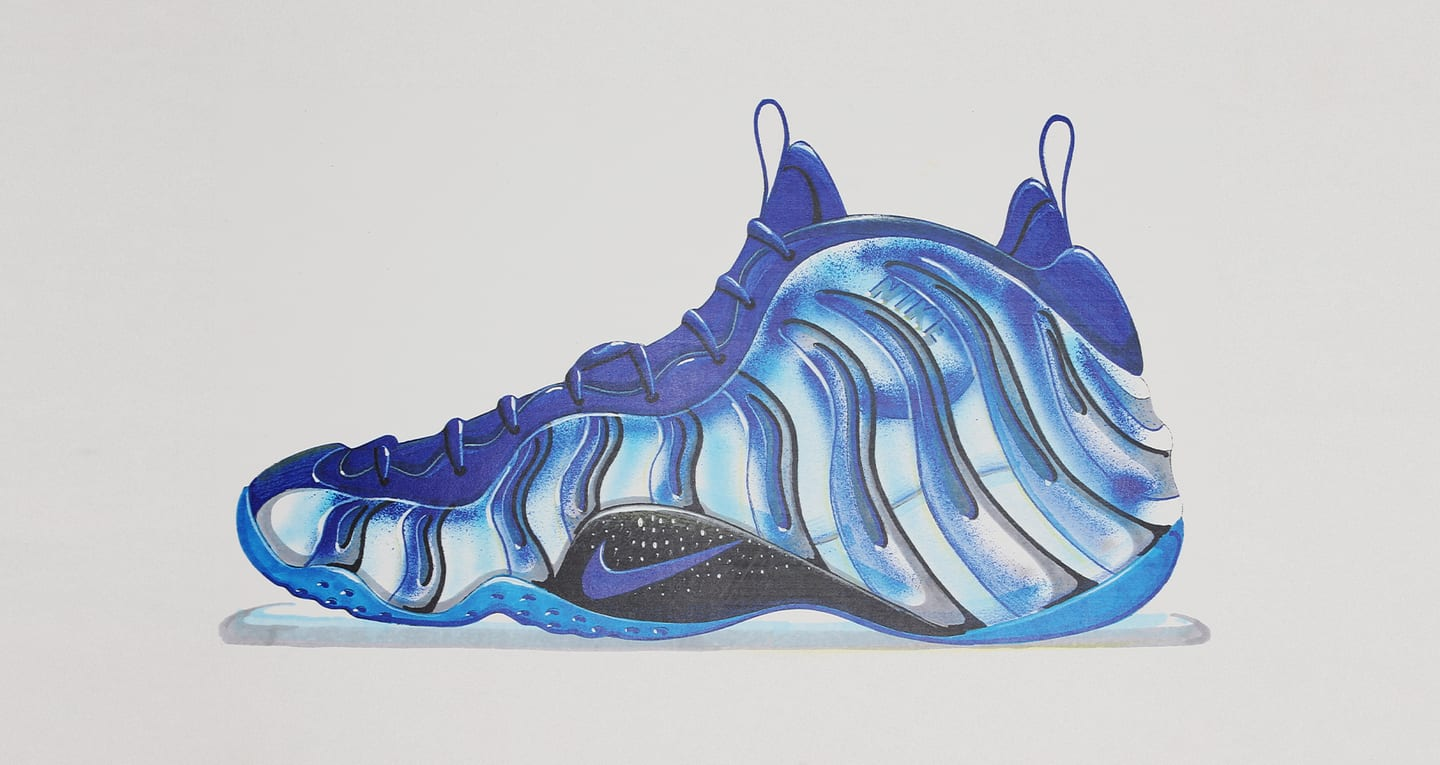 Air Foamposite Behind the Design: Nike Air Foamposite One. Nike SNKRS GB
