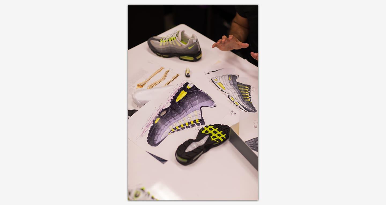 Dietro il design: Nike Air Max 95. Nike SNEAKRS IT