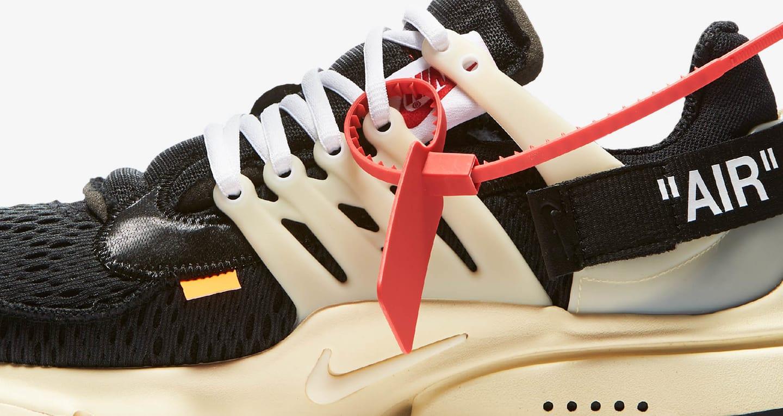 Nike The Ten Presto 'Off White' Release Date. Nike SNKRS NL