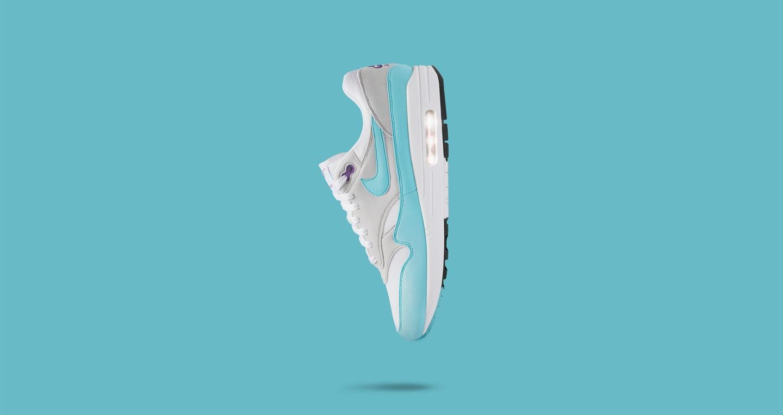 Nike Air Max 1 Anniversary 'White & Aqua' — releasedatum