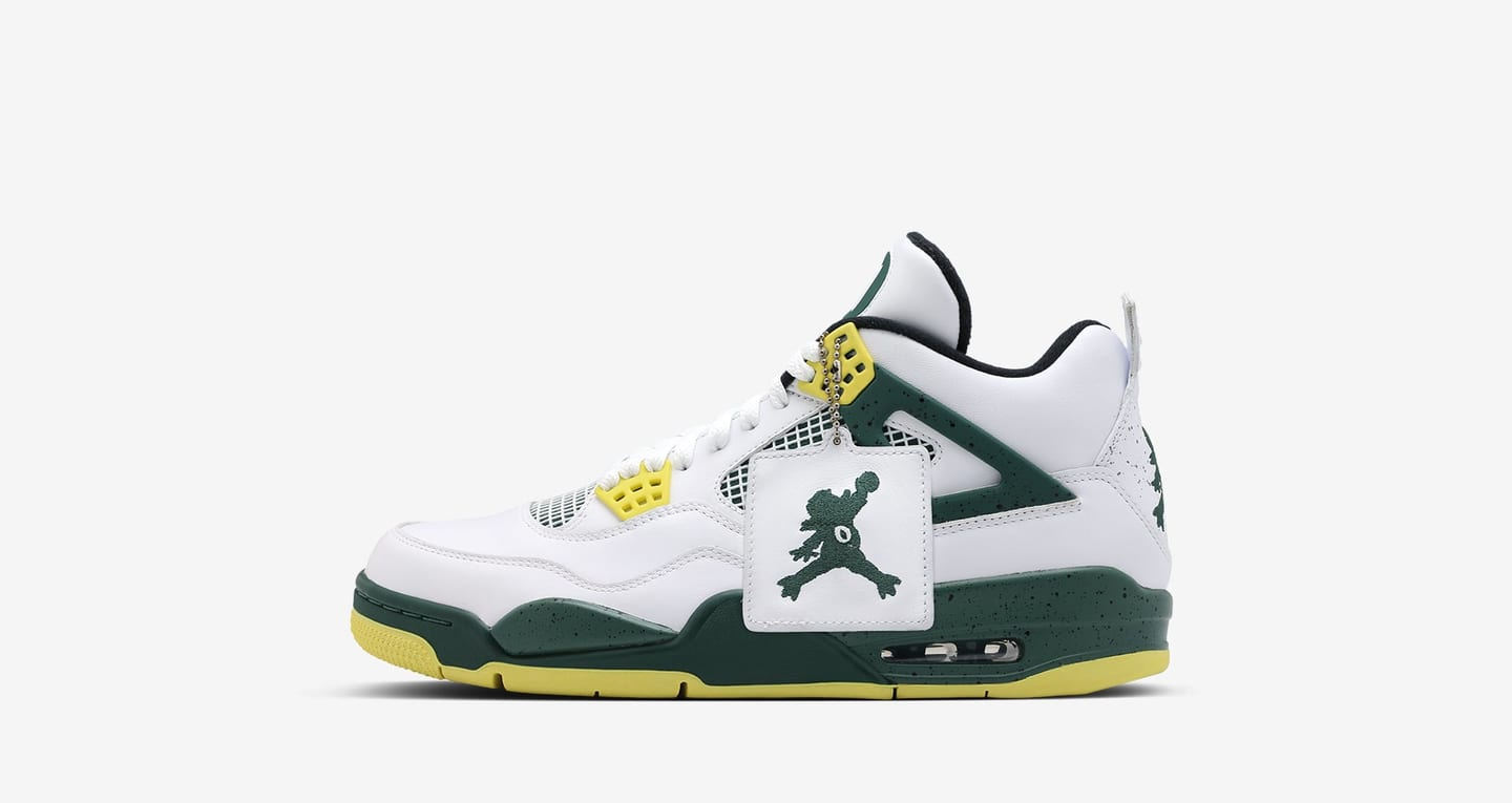 air jordan 4 retro oregon pe oregon pe