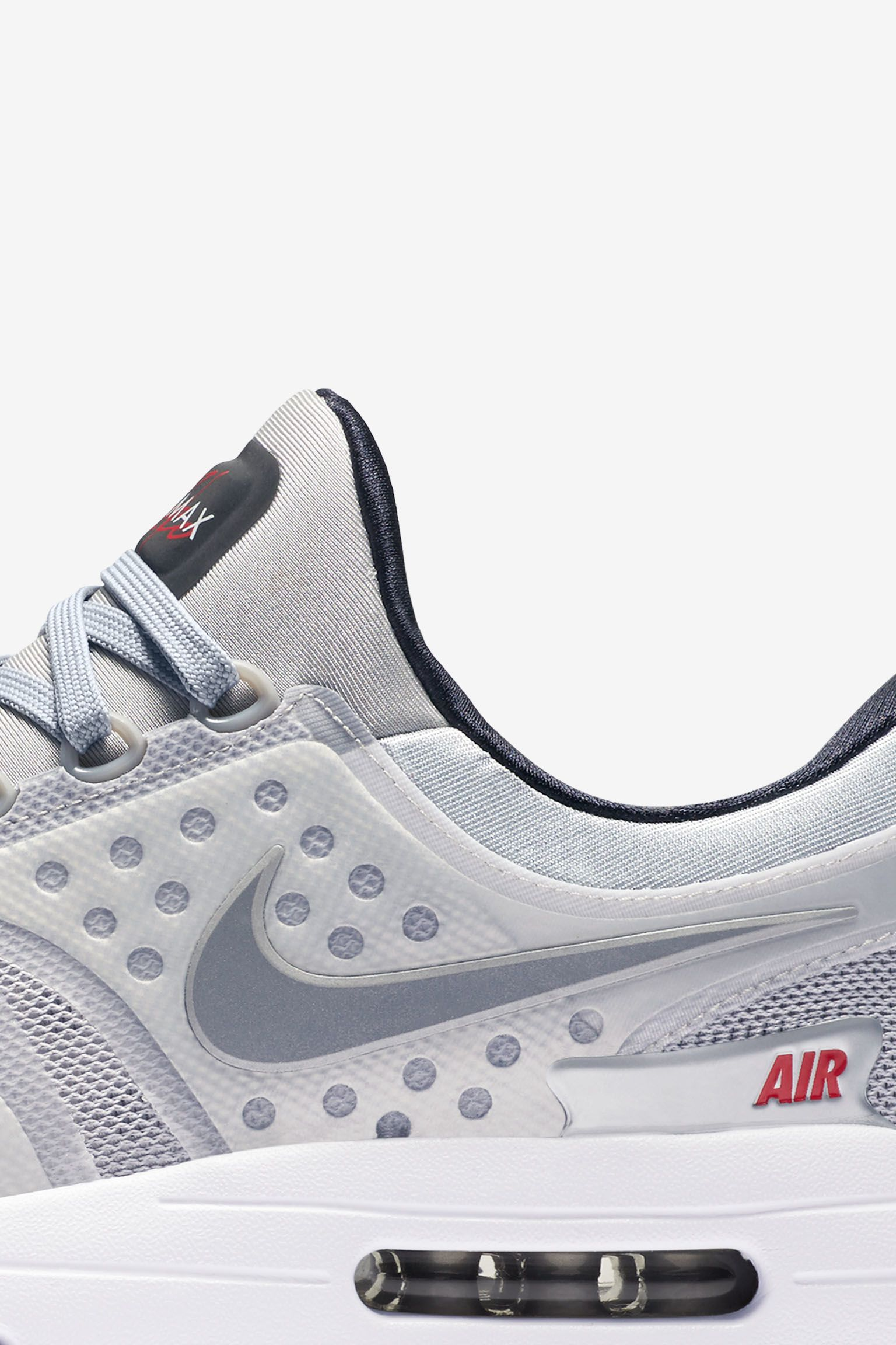 University Air Zero Silveramp; Max Date Red'Release Nike 'metallic O0kPnw